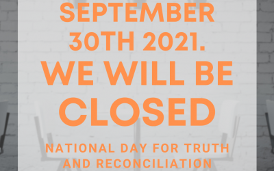 National Day for Truth and Reconciliation.